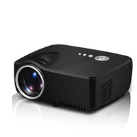 Wholesale GP70 Lumens LCD Portable Mini Projector Pixels Support P with AV USB VGA HDMI SD Card Slot