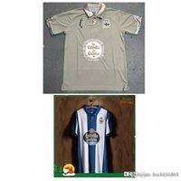 Wholesale football jerseys a La Coruna commemorative edition of the new Thai qualit b