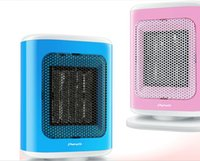 Wholesale DHL send Mini Room heater v Electric fans Warmer Rapid W Europe Semiconductor Ceramic PTC heating element