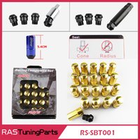 alloy wheels honda - New Arrival RAYS Racing Composite Nut Anti Theft Alloy Aluminum Lock Wheel Lug Nut Bolt