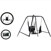 Wholesale Two Layers Leather Sling Sex Hammock Sex Swing Chair Leather bed Hammock and Pillow Adult Game Sex Toy