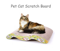 Wholesale Estrella Pet M Shaped Corrugated Paper Hardened Corrugated Cat Scratch Board Grinding Claws Cat Toy Cat Sofa Bed