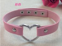 Wholesale Peach heart collar To be used Nightclub Fashion