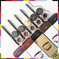 Новый Stock! 5 цветов Кайли Косметика Кайли Kyliner В черный / коричневый с Eyeliner Gel горшок кисть из Uprise DHL Free