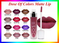 Wholesale Dose Of Colors Liquid Matte Lipstick Waterproof Lip Gloss color VS Kylie lip gloss Retro matte lip