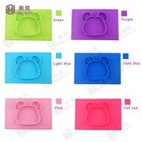 baby food price - 6 colors ECO friendly silicone baby tableware food grade silicone placemat for kids with reasonable price J01
