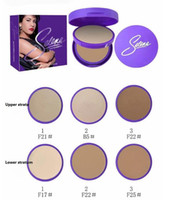 best face foundation brand - Makeup Brand M Selena Collection Face Powder Double deck Color Foundation Best Cosmetics DHL