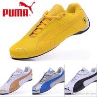 Wholesale 2017 Price Ferrari puma Running Shoes Original For Men Women Retro Fashion Sneakers Athletic Sport Shoes Size