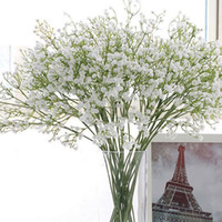 Wholesale Elegant Gypsophila Baby s Breath Artificial Fake Silk Flowers Bridal Bridesmaid Flower Bouquet Plant Home Wedding Decoration ZA1848