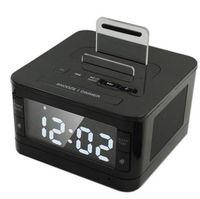alarm clock radio for iphone - K7 Bluetooth Stereo Hifi Music Player Dock Playback Handsfree SNOOZE SLEEP AUX Alarm LCD Clock Radio Speaker for iPhone Samsung