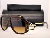 Fashion Woman Antireflection Cazals 4069 Sunglasses Brown Frame Vintage Cazals Legends Eyewear Germany Cheap Retro Mens Womens Sunglasses With Hard Oculos Gafas De Sol