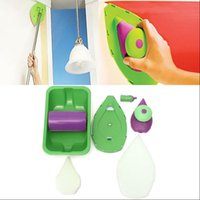 Wholesale Point N Paint Paint Roller Tray Set Painting Brush Household Decorative Home Wall Decor Point Paint Pad Painting Roller Tray Brush KKA1372