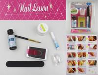 Wholesale Acrylic Nail Kit Manicure Professional DIY Herramientas Set Nails Powder Art Tools Acryl Acrilico Ongles Unhas Manicura Tool