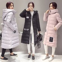 basics coat - 2016 Popular New Fashion Women s Winter Jacket Down Coats Long Women Basic Coats Winter Down Parkas FS1043