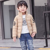 Wholesale Boys winter coat new thickening children s cotton padded jacket Korean version of years old children