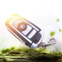 Llave de una llave de la llave Smart Keyless plegable Car Flip para 315/434 MHz BMW X5 para 3/5 tarjeta de la serie Código de Aprendizaje de Control Remoto Alarma del coche clave