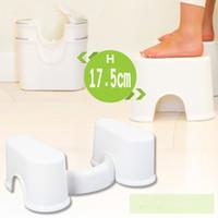 bathroom stool - Squatty Potty The Original Bathroom Toilet Stool quot White