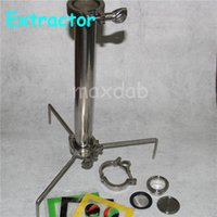 bho extraction - Oil Extraction Machine Extractor Open Blast BHO Extractor G Stainless Steel Blast Tubes Grade used by oil extraction Contain dab Mats
