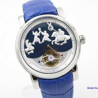 Mejores relojes de moda de calidad Baratos-La mejor correa de goma ya38 de los relojes del reloj de manera de los NUEVOS de la alta calidad de la venta caliente de los hombres automáticos del movimiento libera el envío
