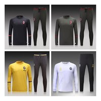 Wholesale Thai AC Milan Tracksuit Track suits chandal Juven DYBALA training suits sports wear