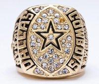 Los anillos 1992 del campeonato de los vaqueros de Dallas liberan el anillo de oro del envío