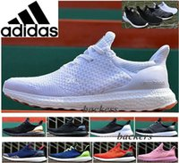 Unisex Mesh EVA Originals Hypebeast x Adidas Ultra Boost Uncaged Running Shoes For Men Women Original Run Sneakers Discount Cheap Black White Size 36-44