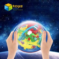 ball barrier - 3D Ball Maze Puzzle Labyrinth Magical Intellect Maze Ball Perplexus Ball Intelligence Educational Toys for Children Barriers