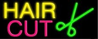 beauty restaurant - Hair Cut Barber Shop Neon Sign Beauty Salo Handmade Custom Real Glass Tube Commercial Display Advertising Neon Signs X14