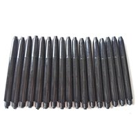 Wholesale Universal Plastic Dart Shafts Dart Accessories mm BA Black factory direct