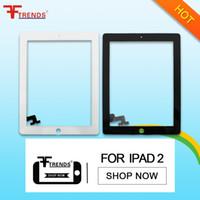 Reemplazo de cristal blanco negro del digitizador de la lente de la pantalla táctil de la alta calidad para el iPad de Apple 2 3 4 Surtidor de la fábrica