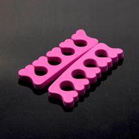 Wholesale Nail Toe Separators Orthedontic Straightening Finger Feet Care Soft Foam Nail Art Separator Nail Tools