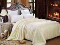 Wholesale Luxury Silk Mulberry Filled Comforter Silk Duvet Quilt Blanket Queen Full Size