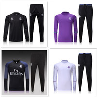 Wholesale Thai Real Madrid Tracksuit BALE Track suits jacket Real Madrid chandal training suits sports wear