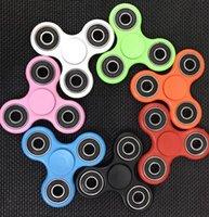 Wholesale EDC Fidget Spinner toy finger spinner toy Hand tri spinner Handspinner Desk Focus Anxiety Toys Finger Spinning Top KKA1400