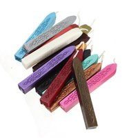 Wholesale New Arrival Colorful Sealing Wax Stick Stamp Wax For Wedding Decorationn Excellent Quality