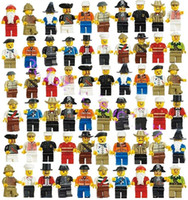 Wholesale zb toys Family and Community Minifigures Men People