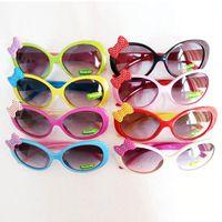achat en gros de lunettes de soleil ombre mixte-Lunettes de soleil mélangées pour enfants en bas âge Lunettes de soleil en plastique pour enfants Lunettes de soleil pour bébés Nacelles pour chat Nappes Lunettes de protection UV400 Freeshipping