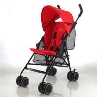 Wholesale light portable baby stroller umbrella convertible cushion pad sun shield easy folding