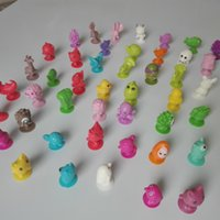 Wholesale NEW Mini Sucker Dolls kids Marine Monster Animal Cupule Suckers Action Toy Suction Cup Collector Capsule Model Puppet