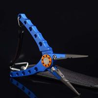 Wholesale 2016 New HIGREE Fishing Plier Machine Cut Line Scissors Cutter Fishing Tackle Pliers Multi function fishing tools