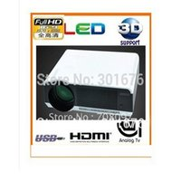 amazing support - Amazing price Lumens LED D projector Full HD Portable Proyector For Home Theater support HDMI VGA AV USB