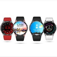 Wholesale Intelligent watch round screen KW88 Andrews system smart watch sedentary remind health monitoring step heart rate positioning