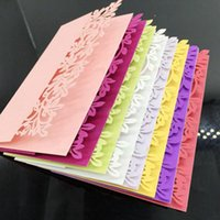 Wholesale Ivory Leaf Table Name Place Card Recycled Paper Lace Cut Cards Wedding Party Table Name Place Cards Favor Decor Seats Card