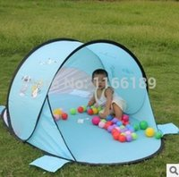 Wholesale UV automatic quick opening portable kids shade tents outdoor children beach sun shelter Kid beach pergola cm