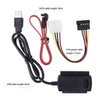 Cheap Power Cable USB 2.0 Adapter Best Laptop : 62cm/24.41in SATA cable