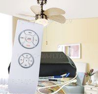 Wholesale Fashion Plated RF wireless Remote control F2 for ceiling fan light of multi function V need to order