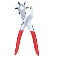 Wholesale Hole Punching Machine Punch Plier Round Hole Perforator Tool Make Hole Puncher for Watchband E0755