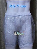 Wholesale 2 pieces ADULT BABY incontinence PLASTIC PANTS Transparent P012 T Full Size L XL