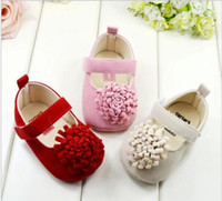 bebe factory - 2015 New Festival flower years newly born infant baby girls first walkers kid bebe sapato jane shoes Hot Factory Price