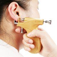 Wholesale Fashion Jewelry Body Jewelry Professional Ear Piercing Gun Stainless Steel Safety Earring Body Piercing Gun Tools Kit